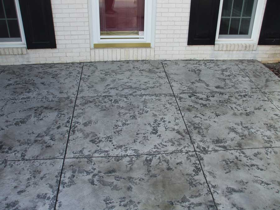Slate Stained Concrete | Cincinnati Ohio